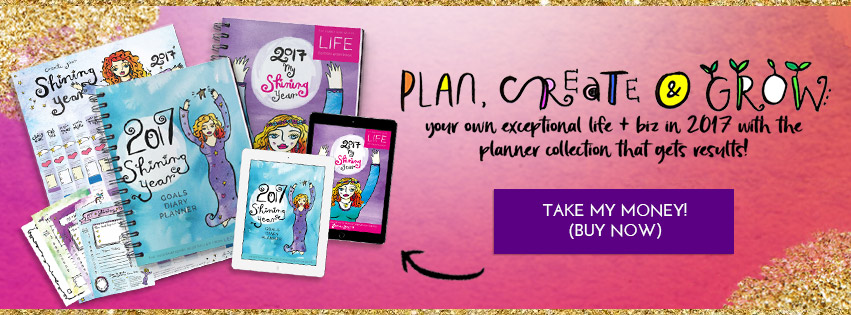 Create an incredible life or biz with Leonie Dawson's amazing 2017 workbooks + NEW weekly planner: