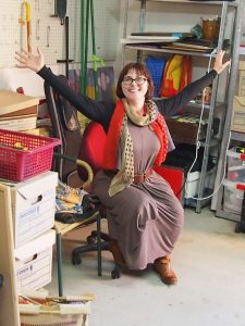 Garage decluttering, feeling free after organising with WellSorted, Canberra