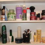 Makeup organising, WellSorted, bathroom cupboards, storing beauty products