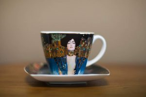 tea cup on dining table