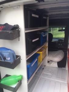 WellSorted Petsitting Van
