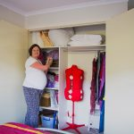 Virginia Wells Pregnant and decluttering