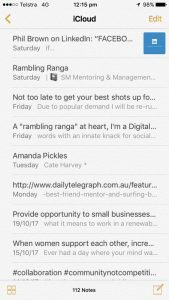 Canberra Organising, social media declutter