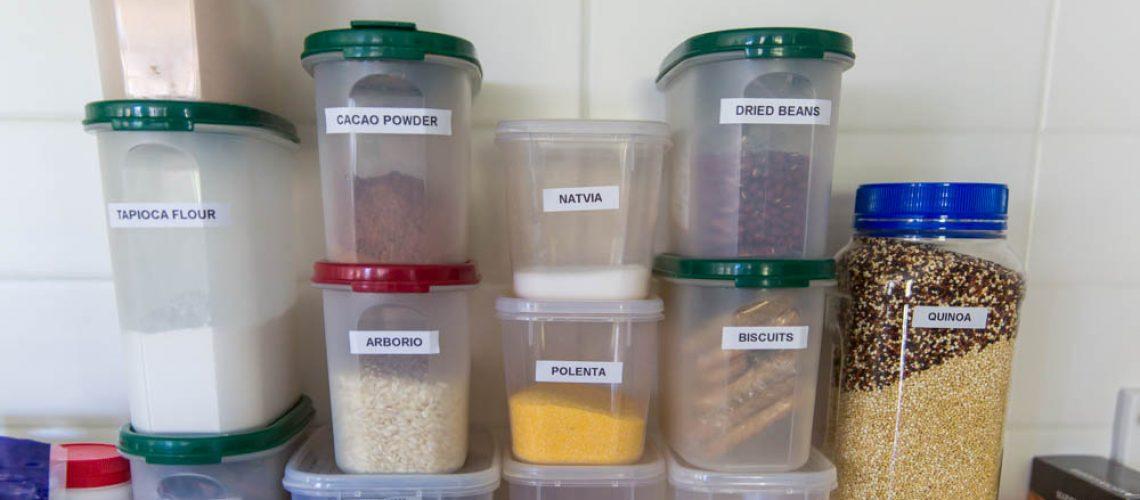 Virginia Wells, Canberra, Organised Shelf, Food