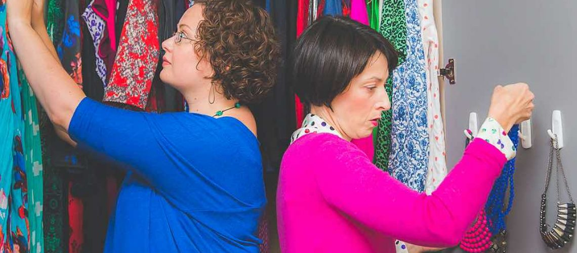 Declutter your wardrobe with these easy steps.