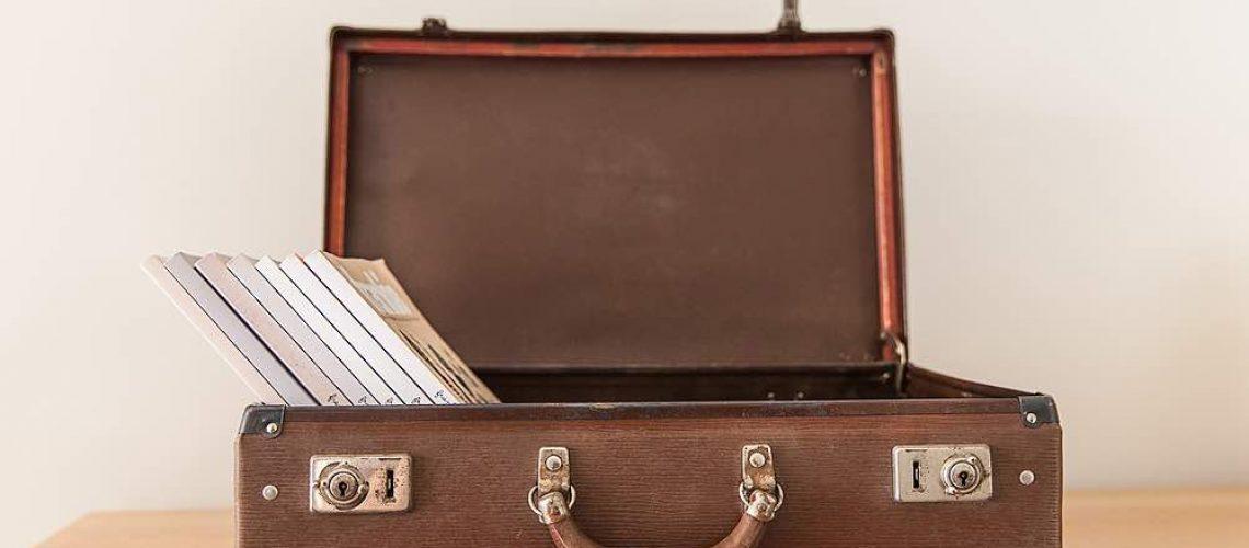 Home decluttering, digital files