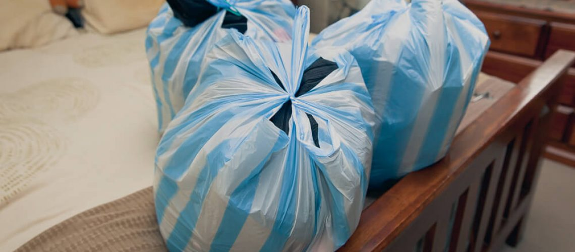 decluttering leaves you with items to donate
